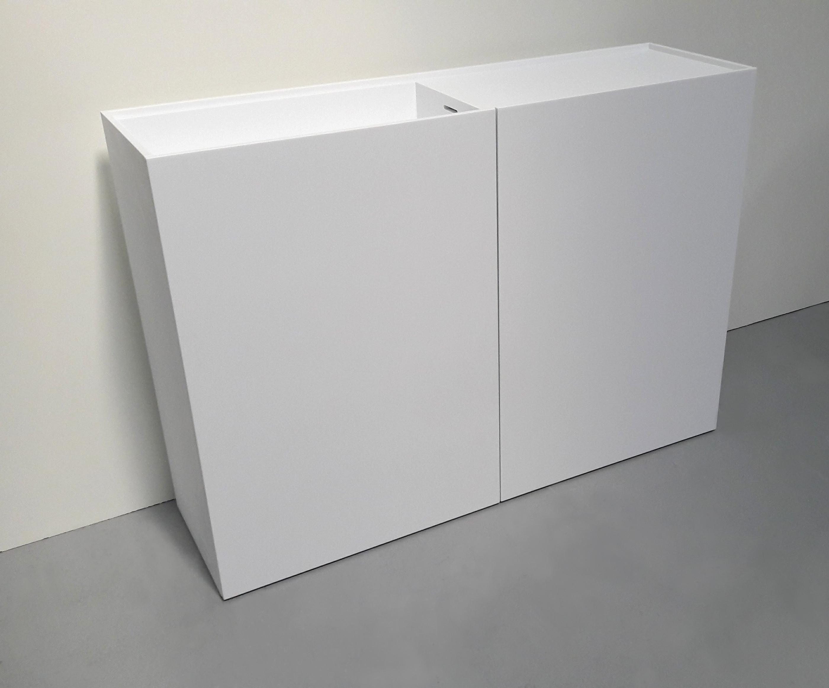 Kendte Corian® badplader - dansk boligstål as QP-68